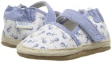 Robeez Poppies Espadrille Soft Sole Girl's Shoes