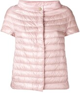 Herno sleeveless feather down jacket