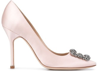 Manolo Blahnik Jewel Buckle 150mm Pumps