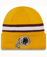 New Era Washington Redskins On-Field Color Rush Pom Knit