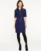 Le Château Bengaline Belted Shirtdress