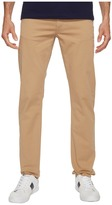 Lacoste Cotton Twill Stretch Five-Pocket Slim Fit Trousers Men's Casual Pants
