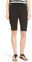 NYDJ Petite Women's Stretch Twill Bermuda Shorts