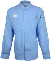 Columbia Men's North Carolina Tar Heels Tamiami Long Sleeve Button Down Shirt