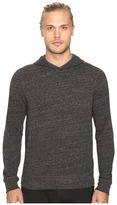 John Varvatos Long Sleeve Pullover Knit Hoodie w/ Chest Pocket and Flatlocked Seam Details K2761S3B