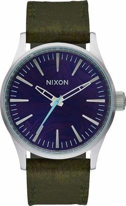 Nixon Men's Analogue Quartz Watch with Leather Strap A3771037-00