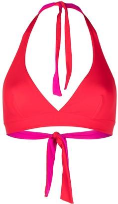 Fisico Reversible Halterneck Bikini Top