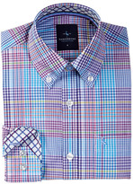 Tailorbyrd Multi Mini Plaid Dress Shirt (Big Boys)
