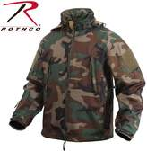 Rothco Special OPS Soft Shell Jacket in Woodland
