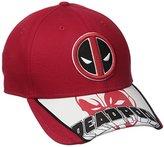 New Era Cap Men's Logo Scramble Deadpool 9forty Adjustable