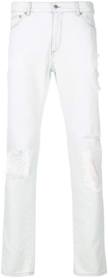 MSGM distressed skinny jeans
