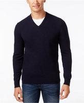 Barbour Men's Elbow-Patch V-Neck Sweater