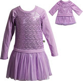 Youngland Young Land Long Sleeve Dress Set - Preschool