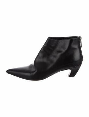 Christian Dior Pretty Leather Boots Black
