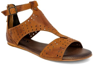 ROAN Leather Heel-Strap Sandals - Kit Cutout