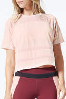 MPG Sport Cropped Mesh T Shirt