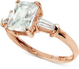 Giani Bernini Cubic Zirconia Ring in 18k Rose Gold-Plated Sterling Silver, Only at Macy's