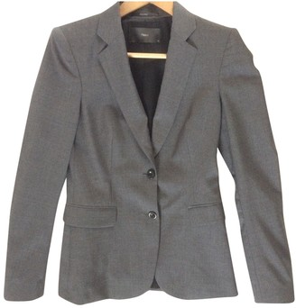 Filippa K Anthracite Wool Jacket for Women
