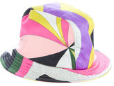 Emilio Pucci Multicolor Abstract Bucket Hat