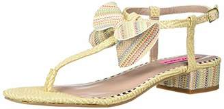 Betsey Johnson Women's Austen Heeled Sandal