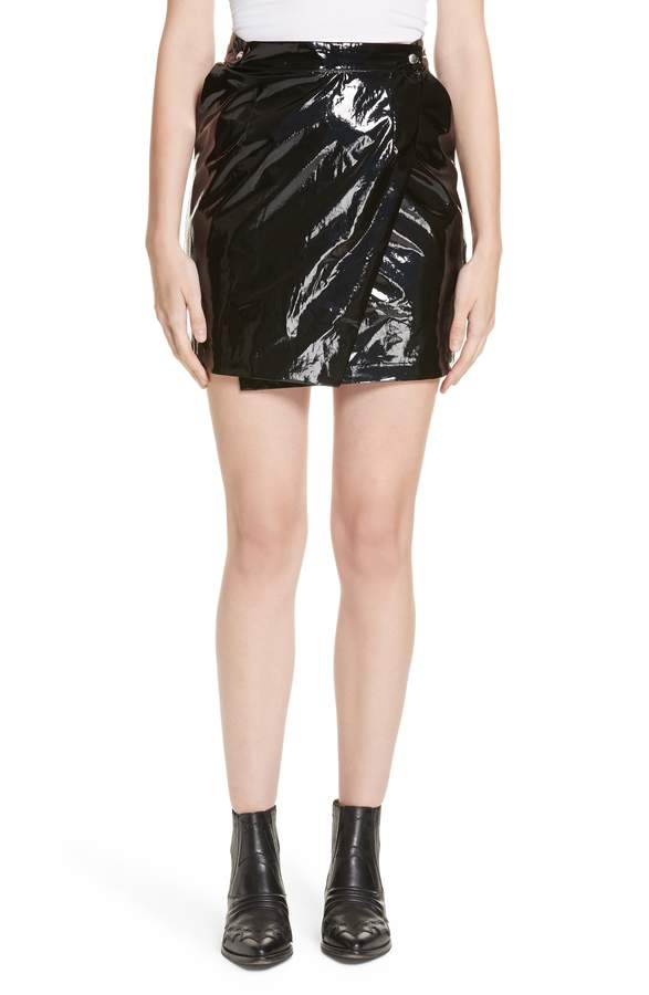 90f56ab8ad Patent Leather Skirt - ShopStyle