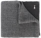 Armani Junior two-tone knit scarf