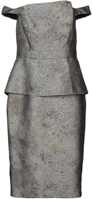 Black Halo EVE by LAUREL BERMAN Knee-length dresses