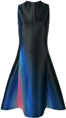 Lanvin Gradient Detail Sleeveless Dress