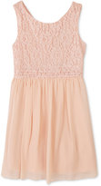 Speechless Pink Lace Party Dress, Toddler Girls (2T-5T) & Little Girls (2-6X)