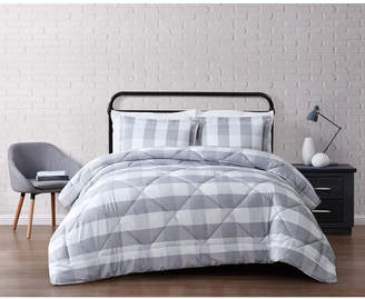 Truly Soft Everyday Buffalo Plaid King Comforter Set Bedding