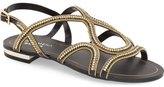 Menbur 'Acedera' Embellished Flat Sandal (Women)