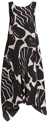 Issey Miyake Cuddle Pleats Shift Dress