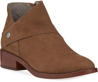 Eileen Fisher Billie Wrapped Nubuck Booties