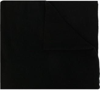 Ermenegildo Zegna Oversized Logo Print Scarf
