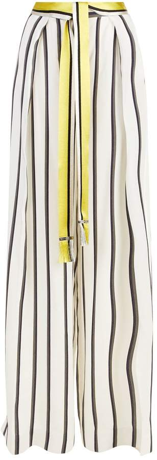 Amanda Wakeley Wide Leg Trousers