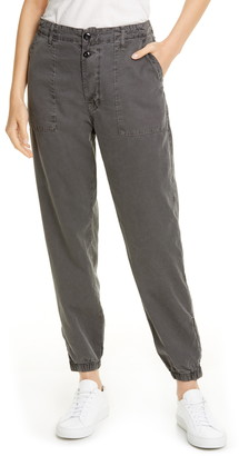 NSF Zoe Zip Hem Cotton Jogger Pants