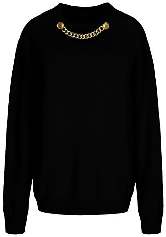 Thumbnail for your product : Givenchy Wool & Cashmere Chain Knit Sweater