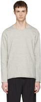 Attachment Grey Raw Finish Pullover