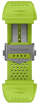 Tag Heuer Connected Lime Green Rubber Watch Band