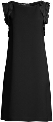 Lafayette 148 New York Bisley Ruffled Shift Dress