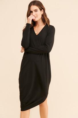Universal Standard Geneva Long Sleeve Dress