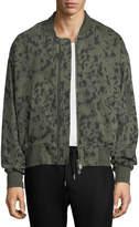 Eleven Paris Jordan Camo-Print Bomber Jacket