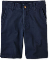 Izod Flat-Front Shorts - Boys 8-20, Slim and Husky