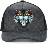 Gucci GG Supreme Angry Cat baseball cap - men - Cotton/Polyester/Polyurethane - L