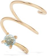 Melissa Joy Manning Gold-tone crystal earring