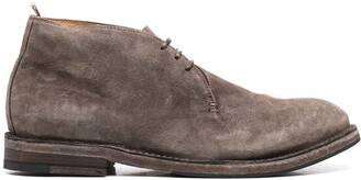Officine Creative lace-up Desert boots