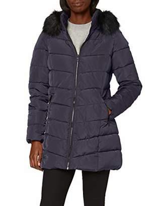 Only Women's ONLMINEA Quilted Fur Hood Coat OTW,12 (Size: M)