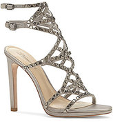 Vince Camuto Imagine Galvin Jeweled Satin Dress Sandals