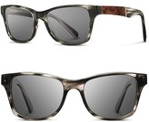 Shwood Men's 'Canby' 53Mm Polarized Sunglasses - Crystal / Elm / G15