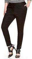Vince Camuto Plus Front Zip Pant